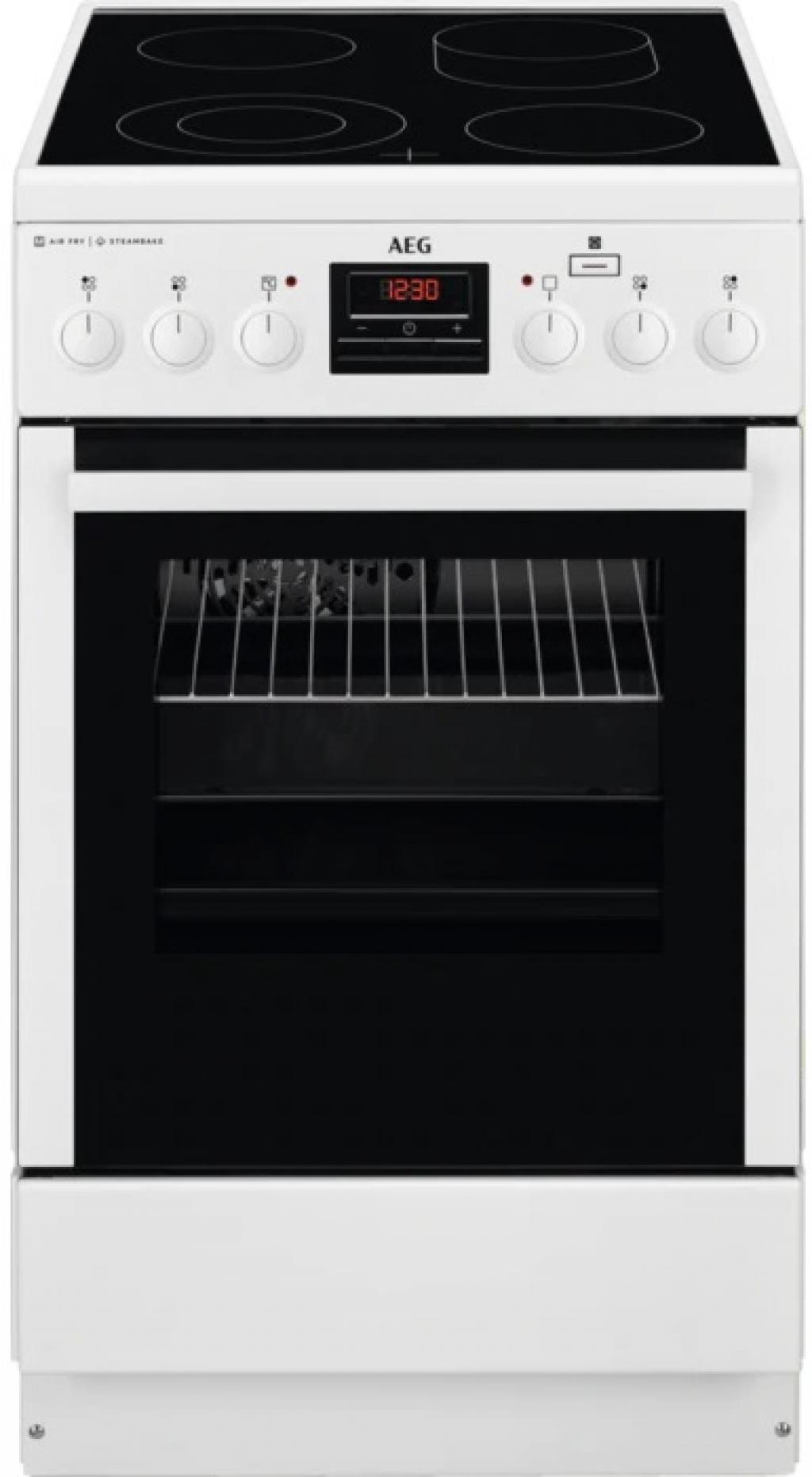 Готварска печка с керамичен плот AEG CCB56470BW
