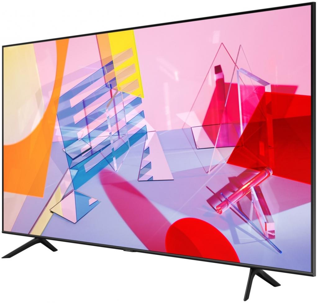 Телевизор Samsung QE65Q60TAUXXH + Саундбар Samsung HW-T450/EN