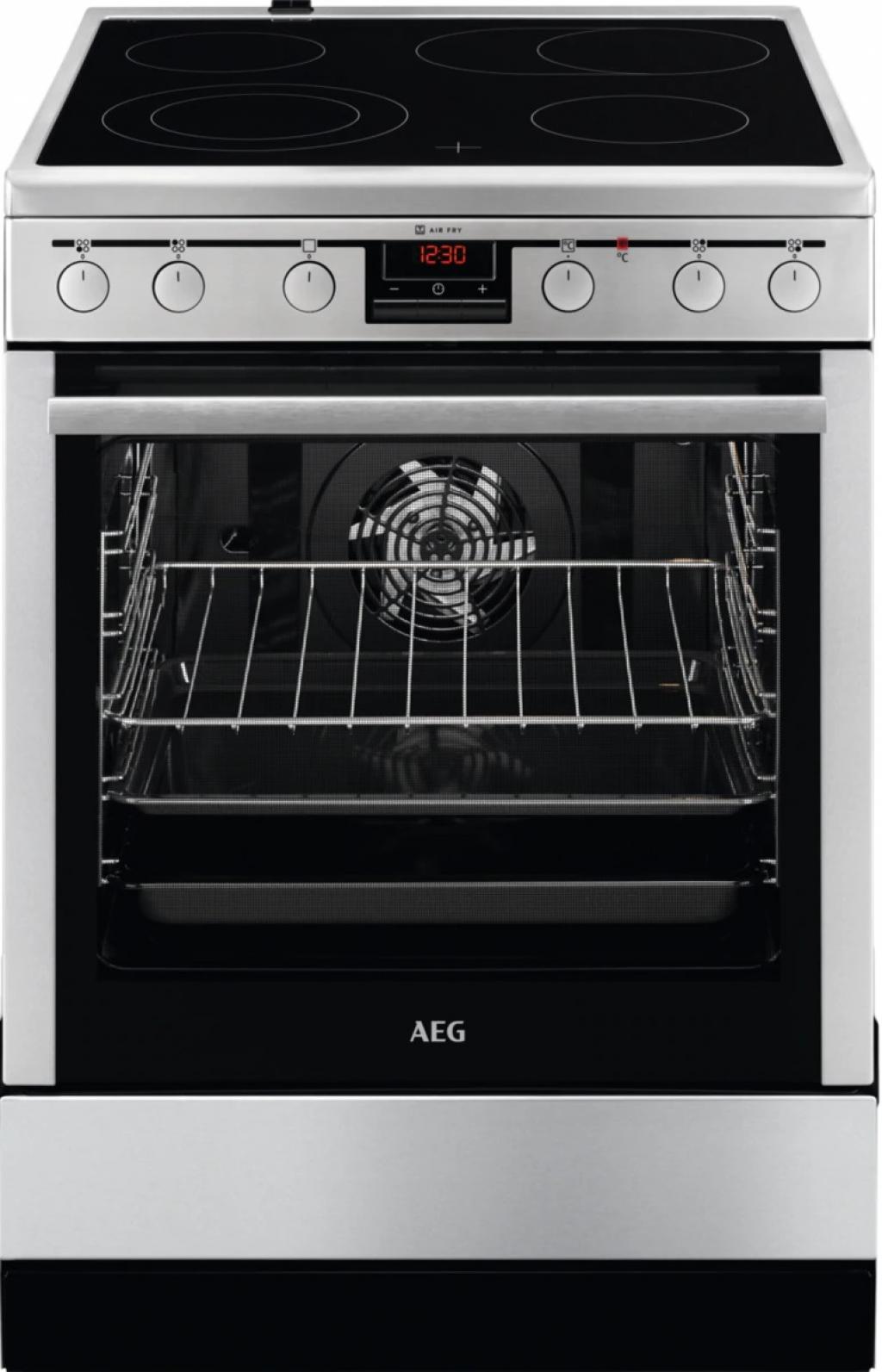 Готварска печка с керамичен плот AEG CCB6441BBM