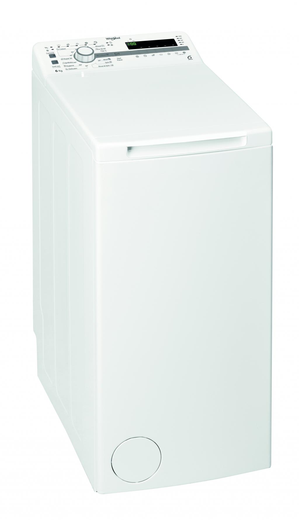 Перална машина с горно зареждане Whirlpool TDLR-6030S EU/N
