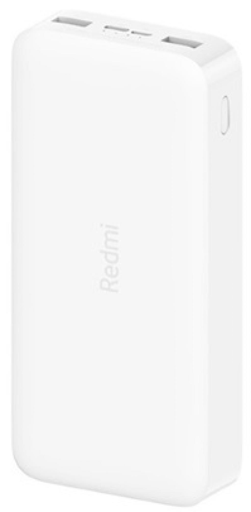 Външна батерия Xiaomi Redmi Power Bank 20 000 mAh 18W Fast Charger White
