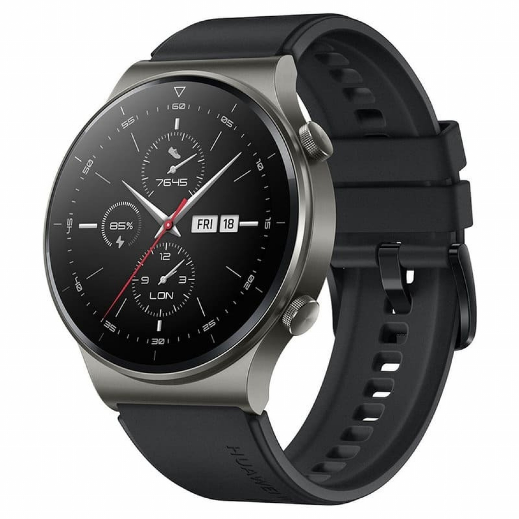 Смарт часовник HUAWEI Watch GT 2 Pro Sport VIDAR- B19S Night Black
