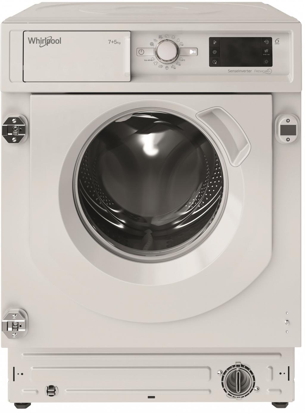 Пералня със Сушилня за вграждане Whirlpool BI WDWG 751482 EU N
