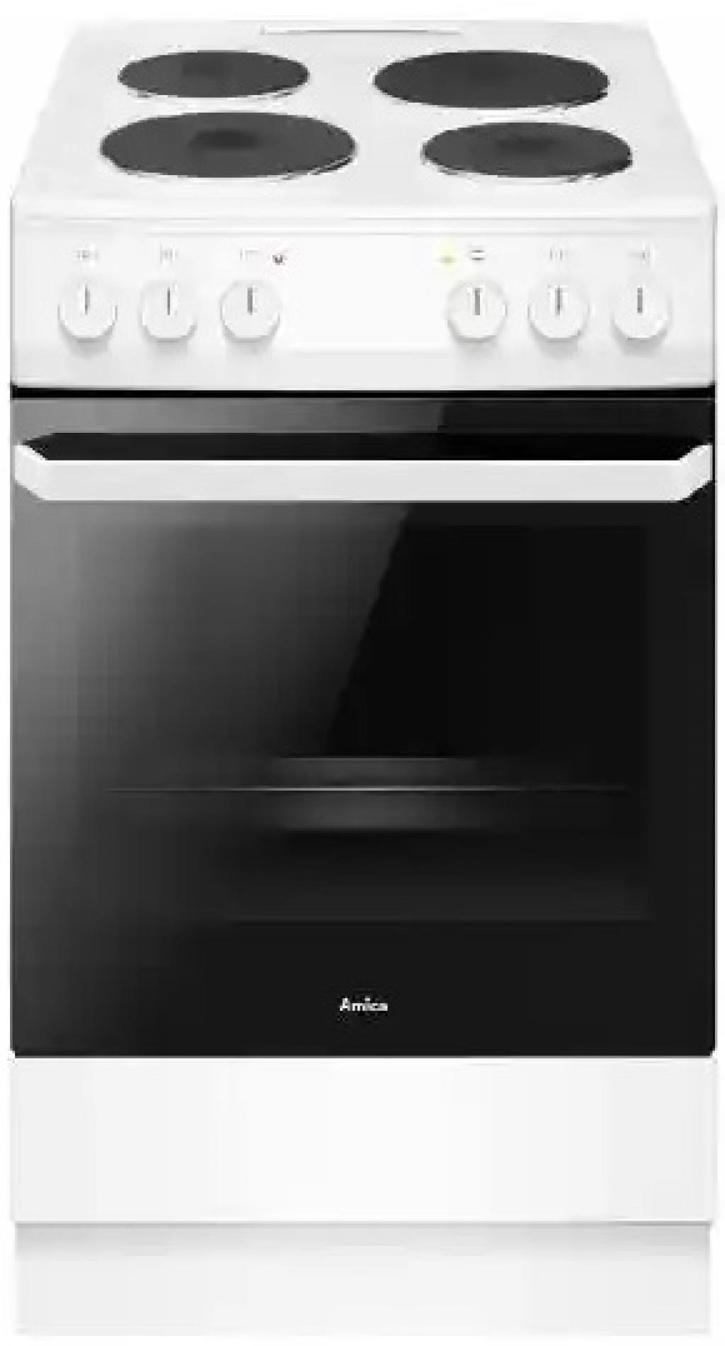Готварска печка - електрическа AMICA 58EE2.20EPFW 56791