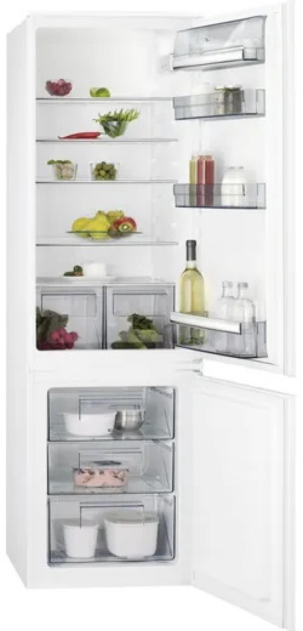 Хладилник за вграждане AEG SCB618F3LS