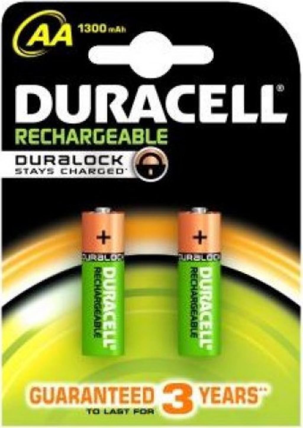 Батерии Duracell AA 2BCd 1300 mAh 10 акумулаторни