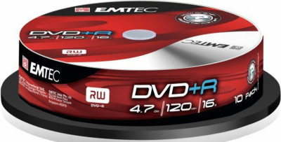 DVD+R Emtec x10бр 4.7GB