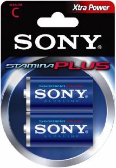 Батерии Sony R14 AM2B2D Alkaline Stamina Plus 2 pcs
