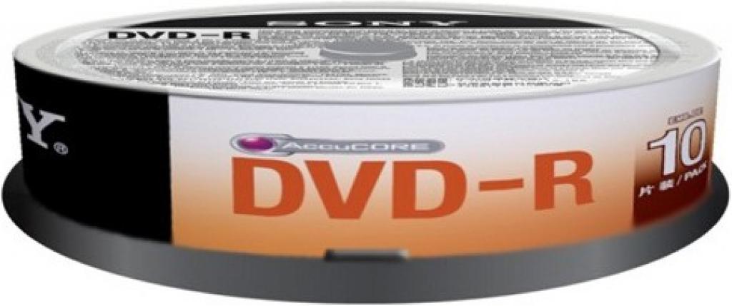 DVD-R SONY 16x 10pcs 10DMR47SP