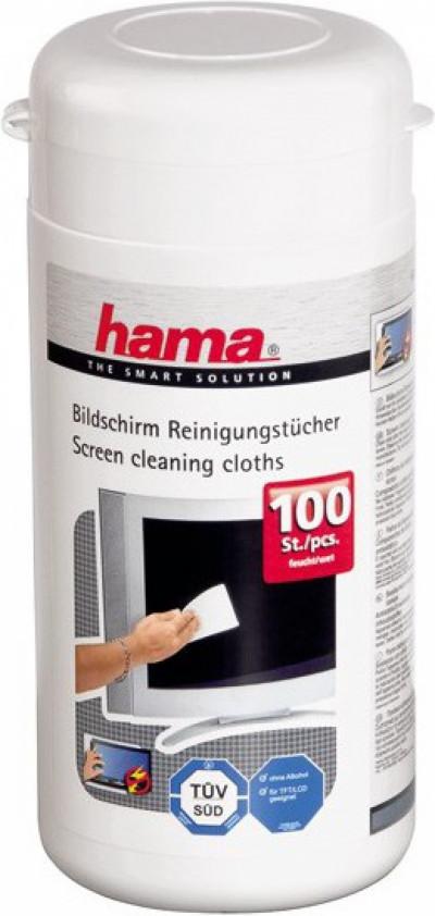 Почистващ препарат HAMA 42212 кърпички за екрани,TFT,PDA