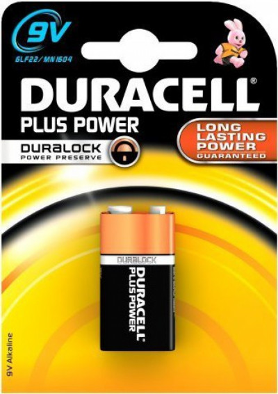 Батерии Duracell 9V Basic MN1604 K1