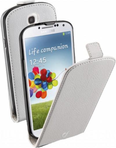 Калъф за телефон Cellular Line FLAPESSGALAXYS4W