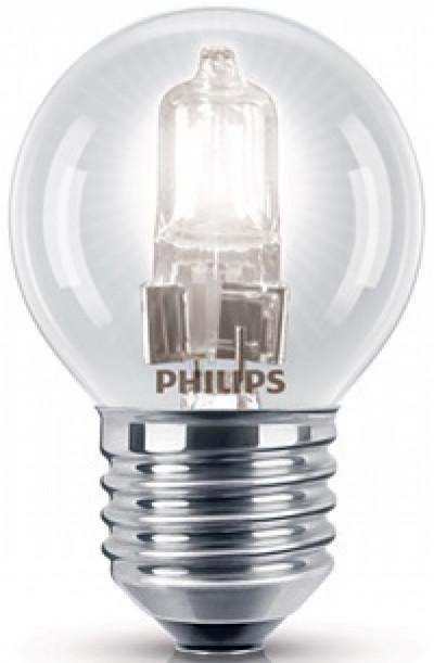 Крушка Philips EcoClassic P45 28W E27 сфера