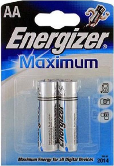 Батерии Energizer ENR Maximum AA FSB2