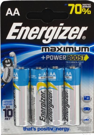 Батерии Energizer ENR Maximum AA FSB4