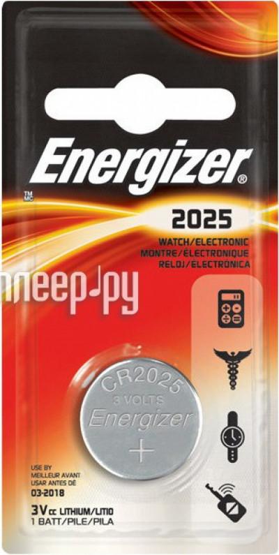Батерии Energizer ENR Lithium CR2025 PIP1