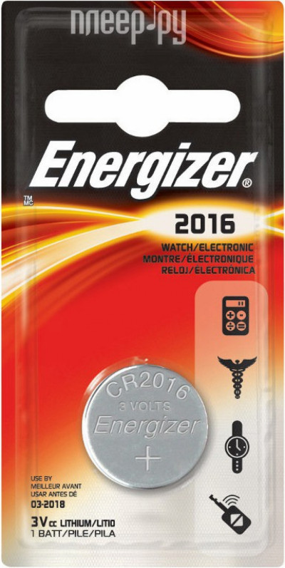 Батерии Energizer ENR Lithium CR2016 PIP1