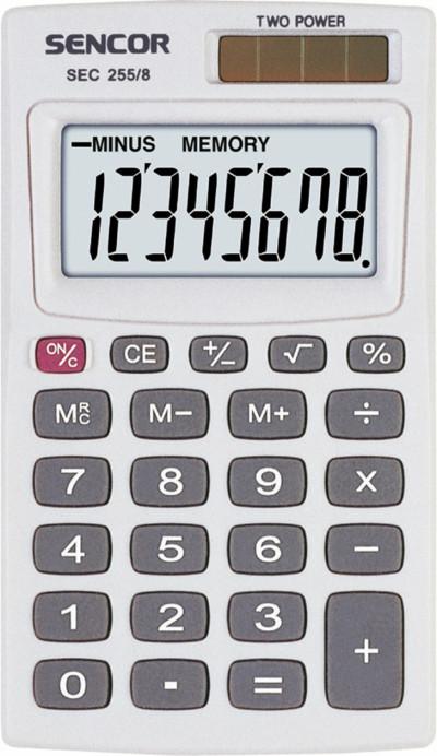 Калкулатор Sencor SEC255/8