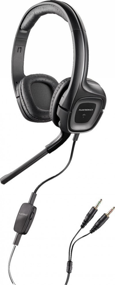 Слушалки Plantronics Audio 355 + микрофон
