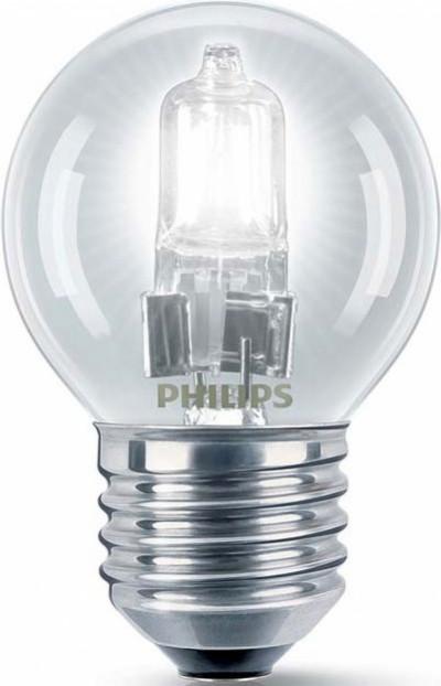 Крушка Philips EcoClassic P45 18W E27 сфера