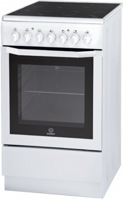 Готварска печка с керамичен плот Indesit I5V62A(W)/EU