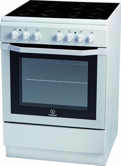 Готварска печка с керамичен плот Indesit I6VMH2A(W)/GR