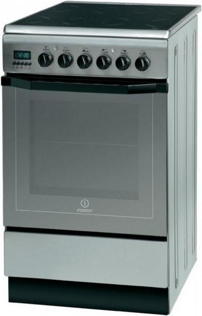 Готварска печка с керамичен плот Indesit I5V7H6A(X)/EU