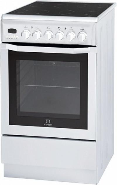 Готварска печка с керамичен плот Indesit I5VM6HA(W)/BG