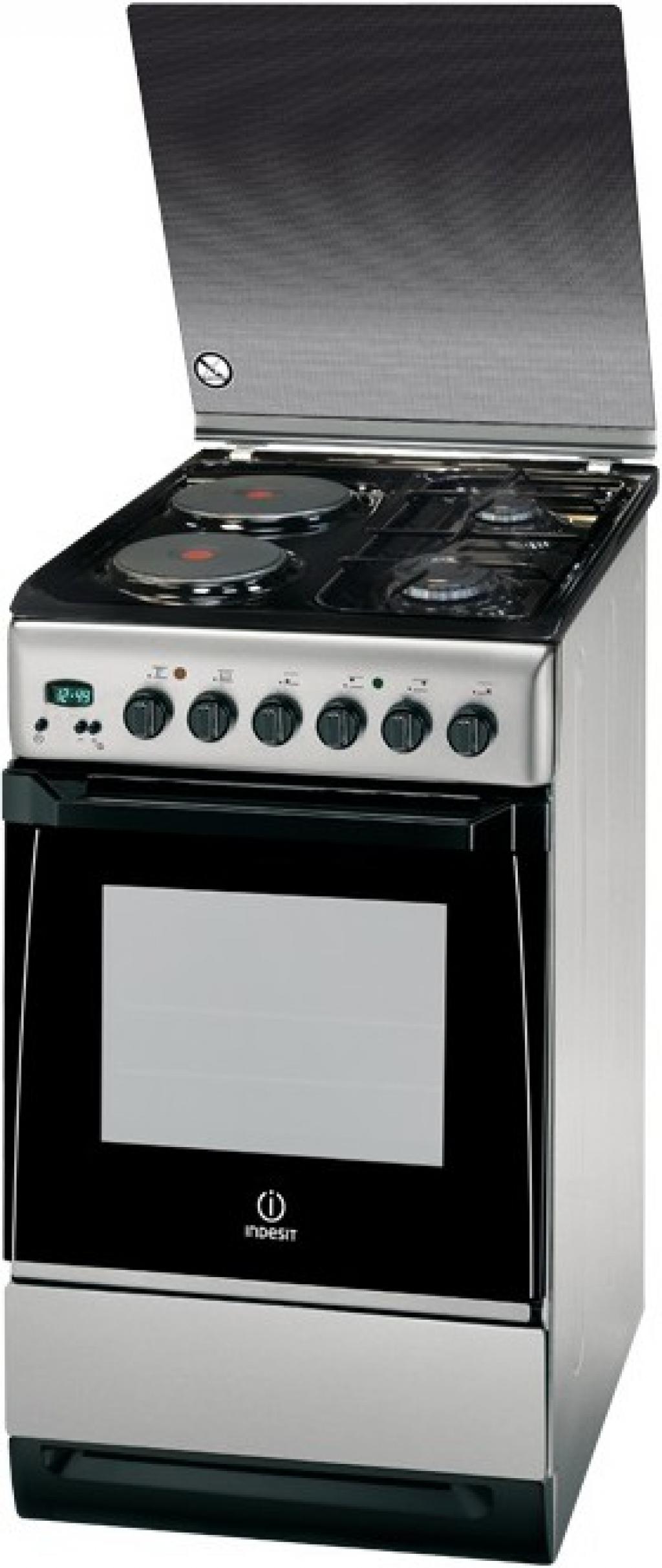 Готварска печка - комбинирана Indesit I5N65A(KX)/BG