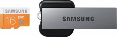 SD micro карта памет SAMSUNG 16GB MB-MP16DU2/EU + адаптор