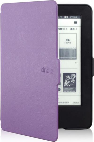 Калъф за електронна книга Kindle 2014 лилав