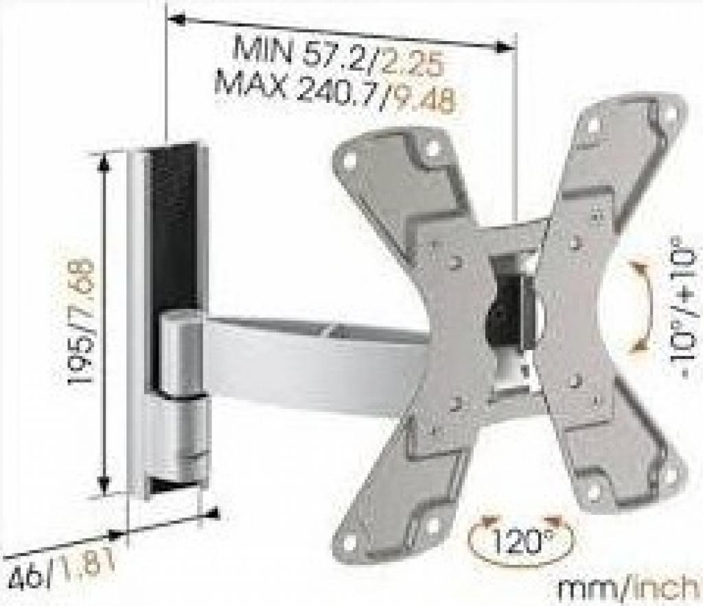 """Стойка за телевизор VOGELS WALL 1125  за LED/LCD 19""""-37"""""""
