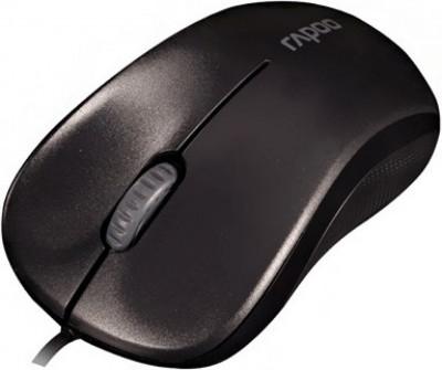 Мишка RAPOO N1130-13742 жична оптична ,черна