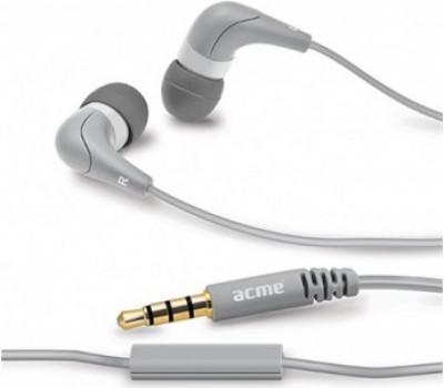 Слушалки Acme HE15G Grey Head with mic