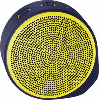 Тонколона Logitech X100 Mobile Speaker Yellow