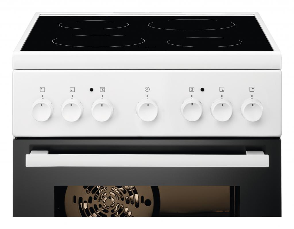 Готварска печка с керамичен плот Electrolux EKC51350OW