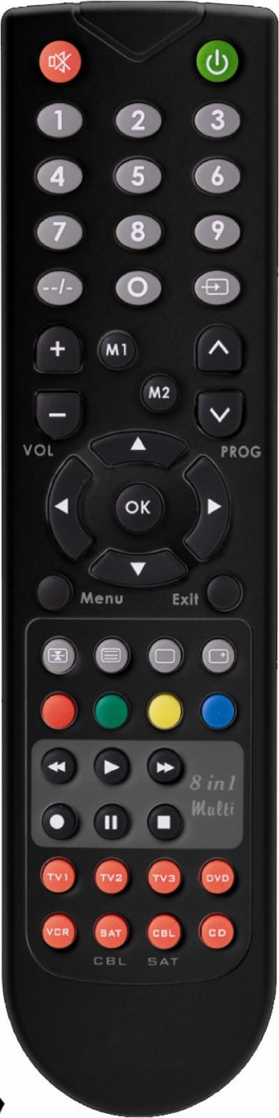 Универсално дистанционно Diva Remote Control RC112E Black