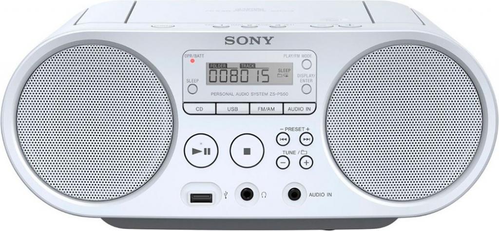 Радиокасетофон Sony ZS-PS50W