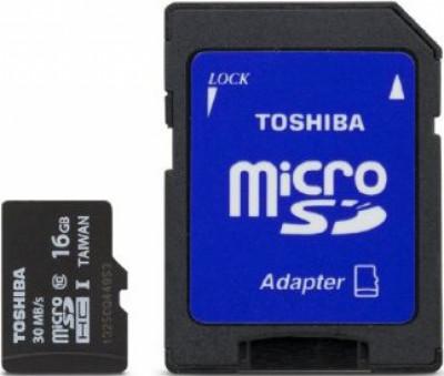 SD micro карта памет Toshiba Micro SDHC 16GB CL 10 UHS1 48 Mb/S