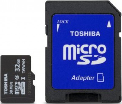 SD micro карта памет Toshiba Micro SDHC 32GB CL 10 UHS1 40 Mb/S