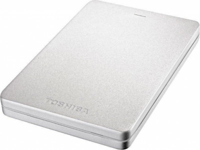 Хард диск Toshiba HDD 1TB Canvio ALU 3S Silver HDTH310ES3AA