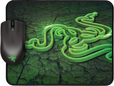Геймърска мишка Razer Abyssus 1800 + подложка Goliathus RZ84-00360200-B3M1