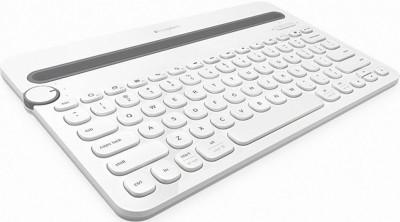 Клавиатура Logitech Bluetooth Multi-Device K480, White