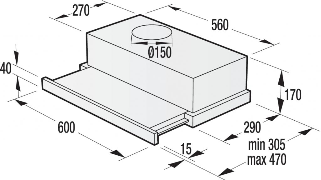 Абсорбатор Gorenje BHP623E11B
