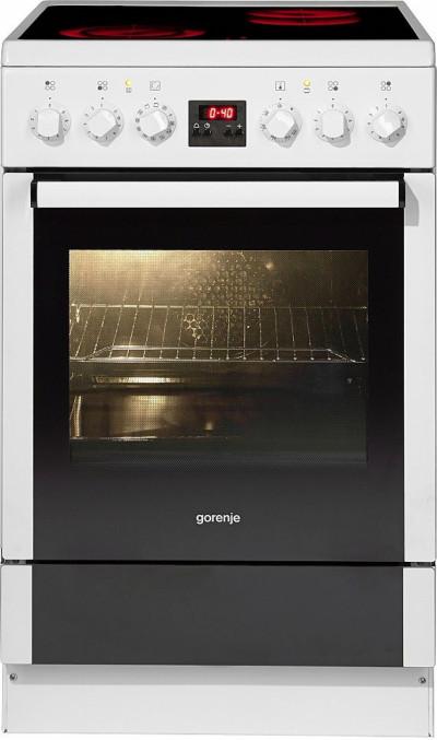 Готварска печка с керамичен плот Gorenje EC57320AW