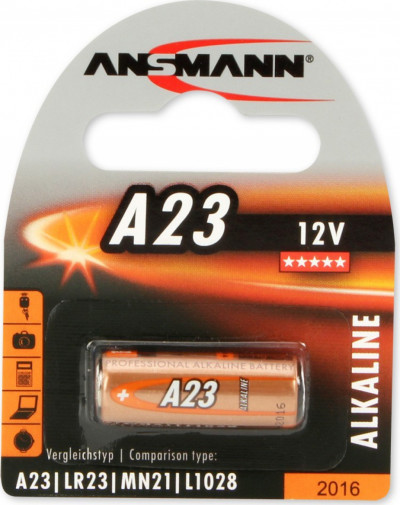 Батерии ANSMANN 12V 23A 1B ANS 5015182