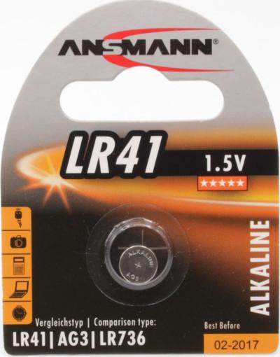 Батерии ANSMANN LR41 G3 ANS 1.5V 5015332