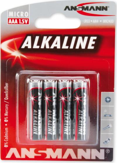 Батерии ANSMANN LR03 ANS red AAA 4B 5015553