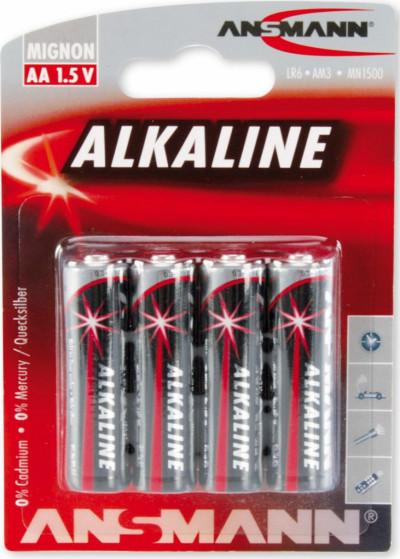 Батерии ANSMANN LR06 ANS red AA 4B 5015563