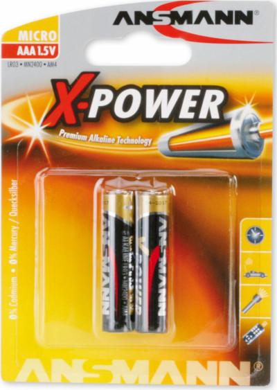 Батерии ANSMANN LR03 X-POWER ANS 2B 5015603